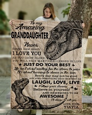 """JUST DO YOUR SELF - BEST GIFT FOR GRANDDAUGHTER Quilt 50""""x60"""" - Throw aos-quilt-50x60-lifestyle-front-01"""