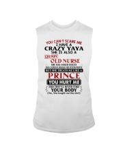 YOU CAN'T SCARE ME - GREAT GIFT FOR GRANDCHILD Sleeveless Tee tile