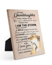 LISTEN TO YOUR HEART - GRANDMA TO GRANDDAUGHTER 8x10 Easel-Back Gallery Wrapped Canvas thumbnail