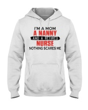 AND A RETIRED - PERFECT GIFT FOR NURSE Hooded Sweatshirt tile