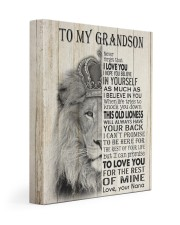 BELIEVE IN YOURSELF - GREAT GIFT FOR GRANDSON 11x14 Gallery Wrapped Canvas Prints front