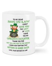 THE GIFT OF LIFE - SPECIAL GIFT FOR SON-IN-LAW Mug front