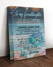 THE GIFT OF LIFE - GRANNY TO GRANDDAUGHTER 11x14 Gallery Wrapped Canvas Prints aos-canvas-pgw-11x14-lifestyle-front-17