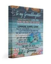 THE GIFT OF LIFE - GRANNY TO GRANDDAUGHTER 11x14 Gallery Wrapped Canvas Prints front