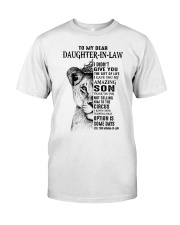 THE GIFT OF LIFE - BEST GIFT FOR DAUGHTER-IN-LAW Premium Fit Mens Tee tile