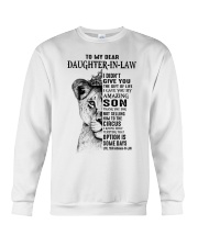 THE GIFT OF LIFE - BEST GIFT FOR DAUGHTER-IN-LAW Crewneck Sweatshirt tile