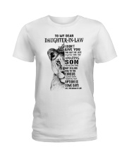 THE GIFT OF LIFE - BEST GIFT FOR DAUGHTER-IN-LAW Ladies T-Shirt tile