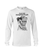 THE GIFT OF LIFE - BEST GIFT FOR DAUGHTER-IN-LAW Long Sleeve Tee tile