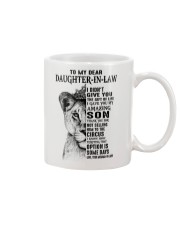 THE GIFT OF LIFE - BEST GIFT FOR DAUGHTER-IN-LAW Mug tile