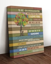 THE GIFT OF YOU - SPECIAL GIFT FOR GRANDDAUGHTER 11x14 Gallery Wrapped Canvas Prints aos-canvas-pgw-11x14-lifestyle-front-17