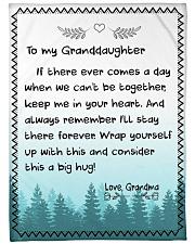 I'LL STAY THERE FOREVER - GRANDMA TO GRANDDAUGHTER Fleece Blanket tile
