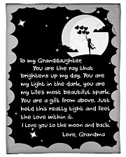 """THE RAY BRIGHTENS UP MY DAY GIFT FOR GRANDDAUGHTER Small Fleece Blanket - 30"""" x 40"""" front"""