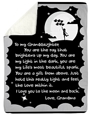 """THE RAY BRIGHTENS UP MY DAY GIFT FOR GRANDDAUGHTER Large Sherpa Fleece Blanket - 60"""" x 80"""" thumbnail"""