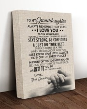 I LOVE YOU - GREAT GIFT FOR GRANDDAUGHTER 11x14 Gallery Wrapped Canvas Prints aos-canvas-pgw-11x14-lifestyle-front-17