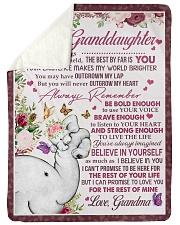 FOR ALL THE THINGS - GRANDMA TO GRANDDAUGHTER Sherpa Fleece Blanket tile