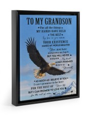 FOR ALL THE THINGS - GRANDMA TO GRANDSON 11x14 Black Floating Framed Canvas Prints thumbnail