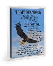 FOR ALL THE THINGS - GRANDMA TO GRANDSON 11x14 White Floating Framed Canvas Prints thumbnail