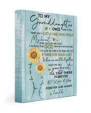MY SUNSHINE - SPECIAL GIFT FOR GRANDDAUGHTER 11x14 Gallery Wrapped Canvas Prints front