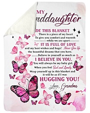 "I BELIEVE IN YOU - GRANDMA TO GRANDDAUGHTER Large Sherpa Fleece Blanket - 60"" x 80"" thumbnail"