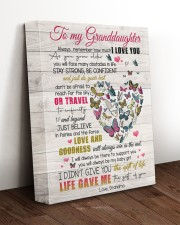 LOVE AND GOODNESS - AMAZING GIFT FOR GRANDDAUGHTER 11x14 Gallery Wrapped Canvas Prints aos-canvas-pgw-11x14-lifestyle-front-17