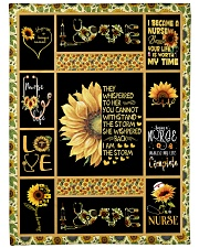 """I AM THE STORM - PERFECT GIFT FOR GRANDMA Large Fleece Blanket - 60"""" x 80"""" front"""