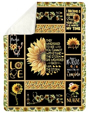 """I AM THE STORM - PERFECT GIFT FOR GRANDMA Large Sherpa Fleece Blanket - 60"""" x 80"""" thumbnail"""