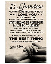 I LOVE YOU - GREAT GIFT FOR GRANDSON 11x17 Poster front