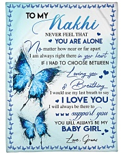 """I LOVE YOU - AMAZING GIFT FOR KAKHI Large Fleece Blanket - 60"""" x 80"""" thumbnail"""