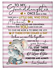 """FOREVER I LOVE YOU - FROM GRANDMA TO GRANDDAUGHTER Small Fleece Blanket - 30"""" x 40"""" front"""