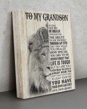 LIFE IS TOUGH - GREAT GIFT FOR GRANDSON 11x14 Gallery Wrapped Canvas Prints aos-canvas-pgw-11x14-lifestyle-front-15
