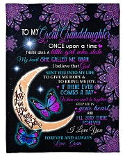 "ONCE UPON A TIME - GRAN TO GREAT GRANDDAUGHTER Small Fleece Blanket - 30"" x 40"" front"