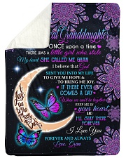 "ONCE UPON A TIME - GRAN TO GREAT GRANDDAUGHTER Large Sherpa Fleece Blanket - 60"" x 80"" thumbnail"