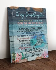 THE GIFT OF LIFE - NANNY TO GRANDDAUGHTER 11x14 Gallery Wrapped Canvas Prints aos-canvas-pgw-11x14-lifestyle-front-17