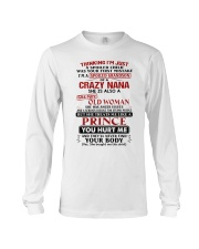I'M JUST A SPOILED CHILD - BEST GIFT FOR GRANDSON Long Sleeve Tee thumbnail