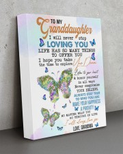 LISTEN TO YOUR HEART - BEST GIFT FOR GRANDDAUGHTER 11x14 Gallery Wrapped Canvas Prints aos-canvas-pgw-11x14-lifestyle-front-15