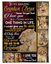 """ONE THING IN LIFE - AMAZING GIFT FOR GRANDSON  Small Fleece Blanket - 30"""" x 40"""" front"""