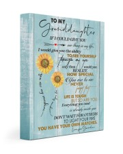 MY SUNSHINE - GREAT GIFT FOR GRANDDAUGHTER 11x14 Gallery Wrapped Canvas Prints front