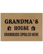 "GRANDMA'S HOUSE - PEPFECT GIFT FOR GRANDMA Doormat 22.5"" x 15""  front"