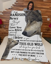 """1 DAY LEFT - GET YOURS NOW Large Fleece Blanket - 60"""" x 80"""" aos-coral-fleece-blanket-60x80-lifestyle-front-04"""