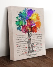MY HEART - AMAZING GIFT FOR GRANDDAUGHTER 11x14 Gallery Wrapped Canvas Prints aos-canvas-pgw-11x14-lifestyle-front-17