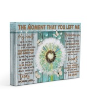 THE MOMENT THAT YOU LEFT ME 14x11 Gallery Wrapped Canvas Prints front
