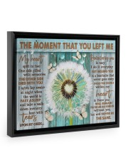 THE MOMENT THAT YOU LEFT ME 14x11 Black Floating Framed Canvas Prints thumbnail