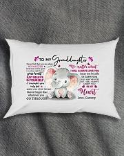 tomy-granddau-heart-grammy-ntmn Rectangular Pillowcase aos-pillow-rectangle-front-lifestyle-1