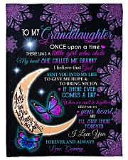 """KEEP ME IN YOUR HEART-FROM GRANNY TO GRANDDAUGHTER Small Fleece Blanket - 30"""" x 40"""" front"""