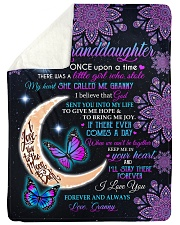 """KEEP ME IN YOUR HEART-FROM GRANNY TO GRANDDAUGHTER Large Sherpa Fleece Blanket - 60"""" x 80"""" thumbnail"""