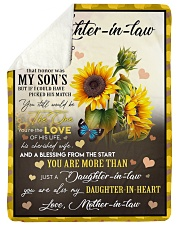 """YOU ARE MORE THAN JUST A DAUGHTER-IN-LAW Large Sherpa Fleece Blanket - 60"""" x 80"""" thumbnail"""
