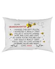 HOPE AND LOVE - BEST GIFT FOR GRANDDAUGHTER Rectangular Pillowcase front