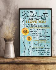 JUST DO YOUR BEST - MOM MOM TO GRANDDAUGHTER 11x17 Poster lifestyle-poster-3
