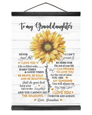 MY SUNSHINE - GRANDDAUGHTER GIFT WITH SUNFLOWER Hanging Canvas tile