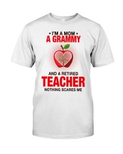 NOTHING SCARES ME - PERFECT GIFT FOR GRAMMY Premium Fit Mens Tee tile